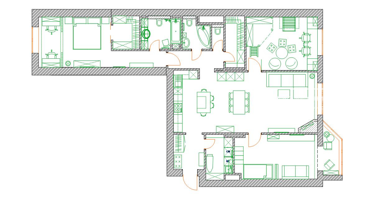 план квартиры 137 кв м